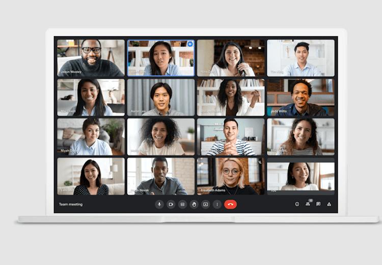 Google Meet - Layout change