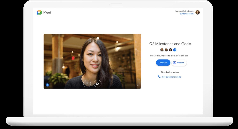 Google Meet - Join a Meeting