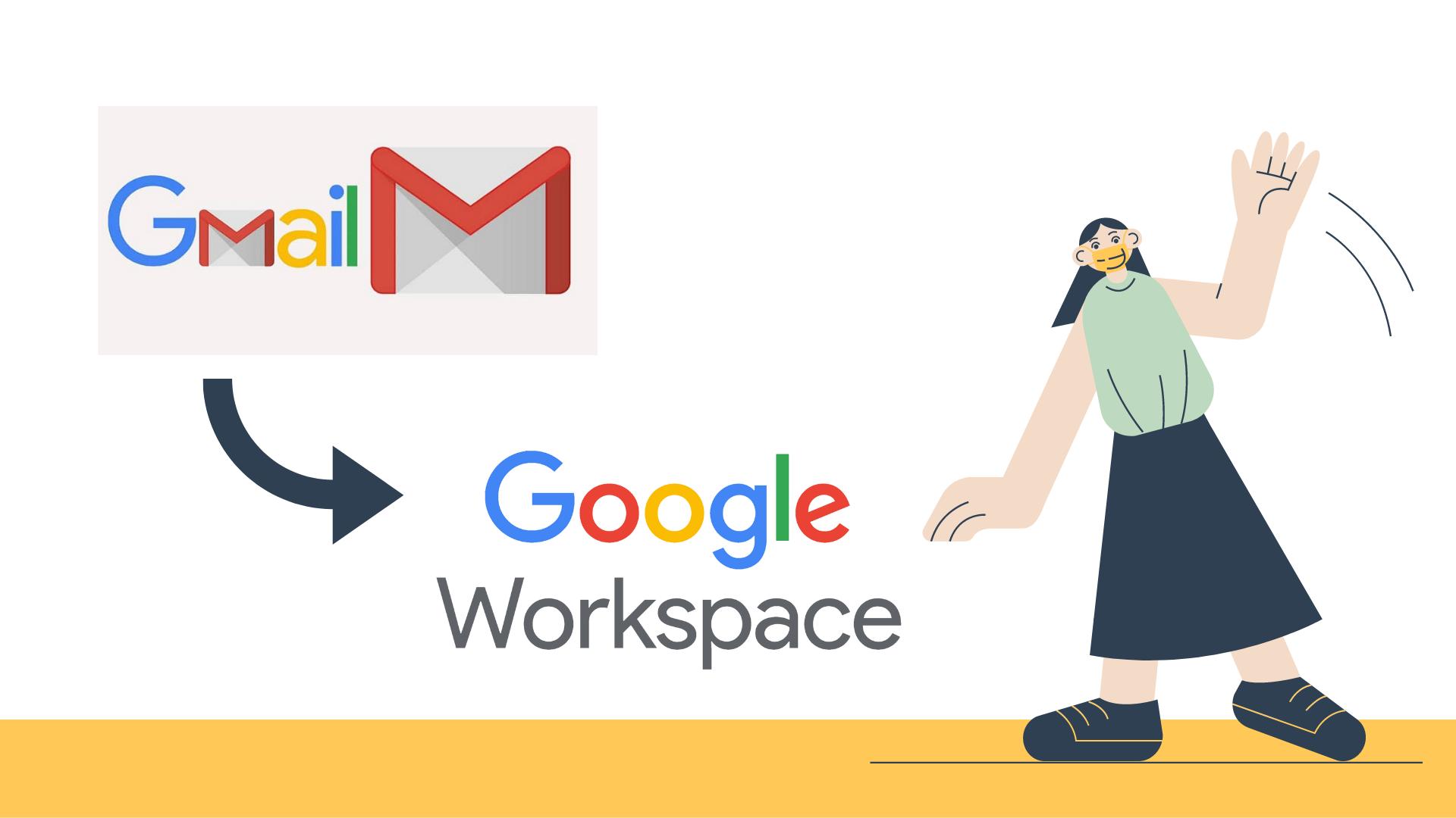 So sánh sự khác biệt giữa Gmail miễn phí và Google Workspace trả phí