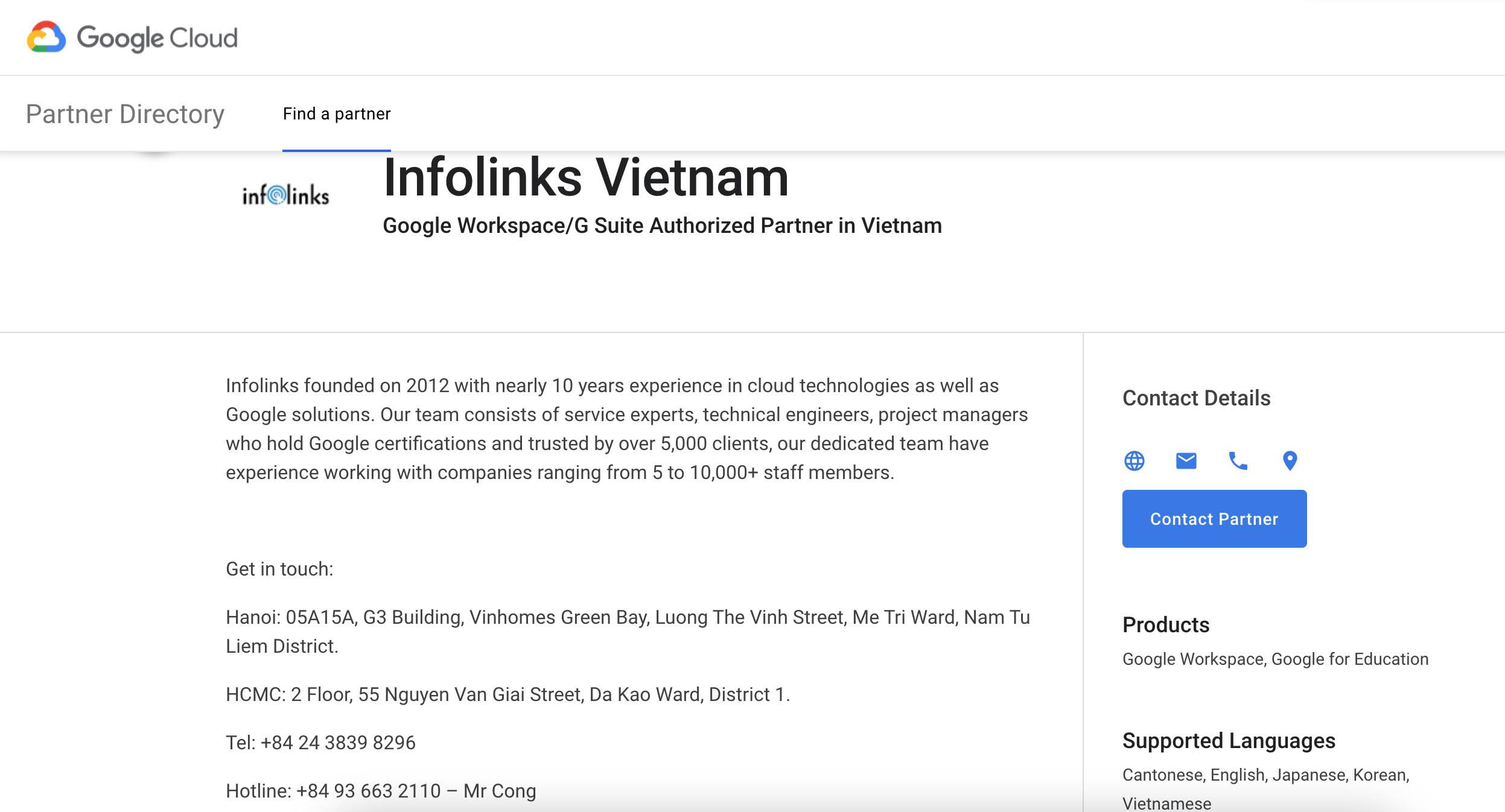 Tại sao nên đăng ký dịch vụ Google Workspace thông qua đối tác